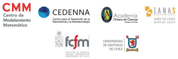CMM | Cedenna | Academia de Ciencias | IANAS WfS | FCFM Universidad de Chile | Universidad de Santiago de Chile